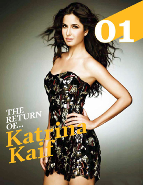 Katrina Kaif FHM Magazine July 2012 Images