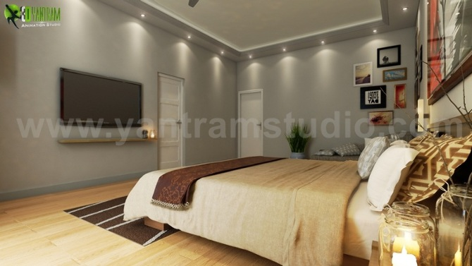 Modern Bedroom 3D Modeling Companies For Your Home