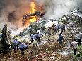 alg india crash flames